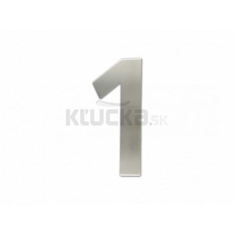 """Číslica """"1"""" fasádna 150mm NEREZ"""
