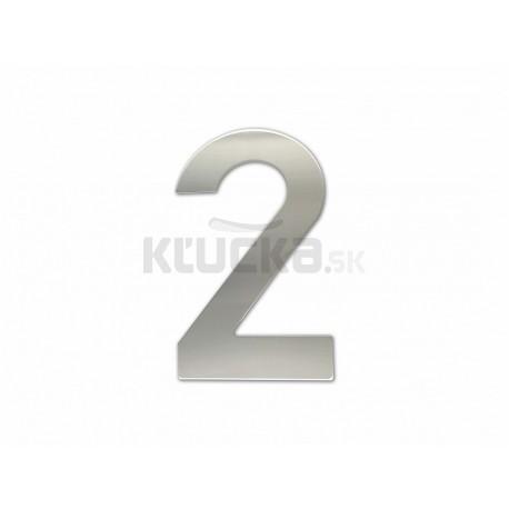 """Číslica """"2"""" fasádna 150mm NEREZ S"""