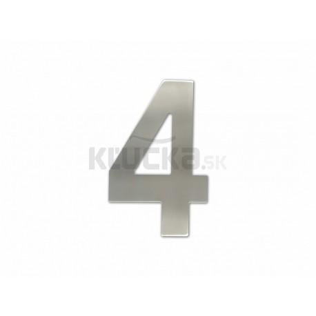 """Číslica """"4"""" fasádna 150mm NEREZ S"""