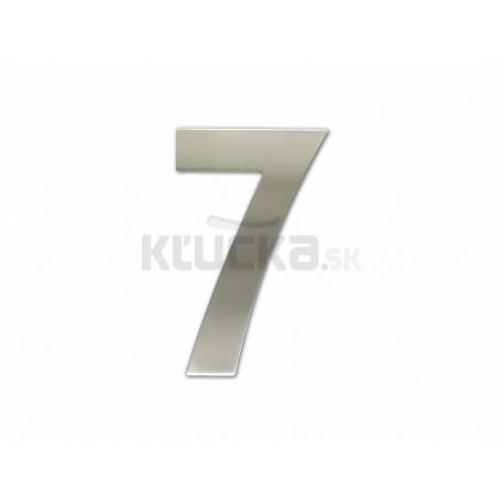 """Číslica """"7"""" fasádna 150mm NEREZ S"""