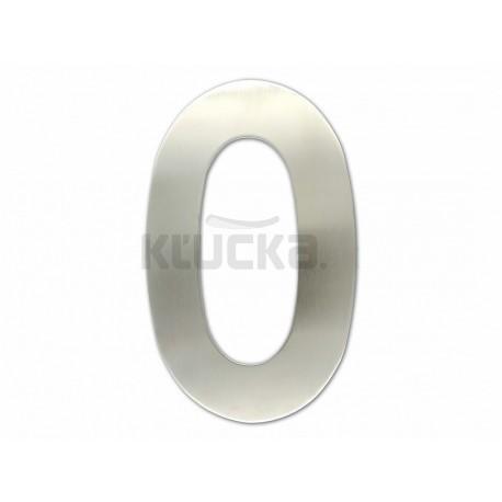 """Číslica """"0"""" fasádna 200mm NEREZ S"""