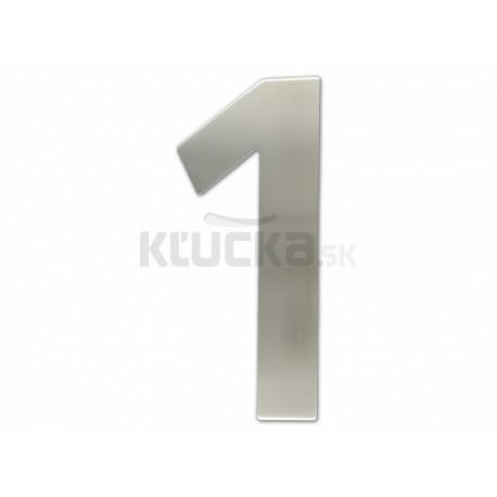 """Číslica """"1"""" fasádna 200mm NEREZ S"""