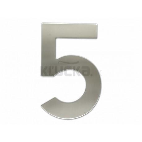 """Číslica """"5"""" fasádna 200mm NEREZ S"""