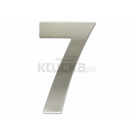 """Číslica """"7"""" fasádna 200mm NEREZ S"""