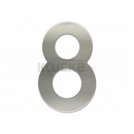 """Číslica """"8"""" fasádna 200mm NEREZ S"""