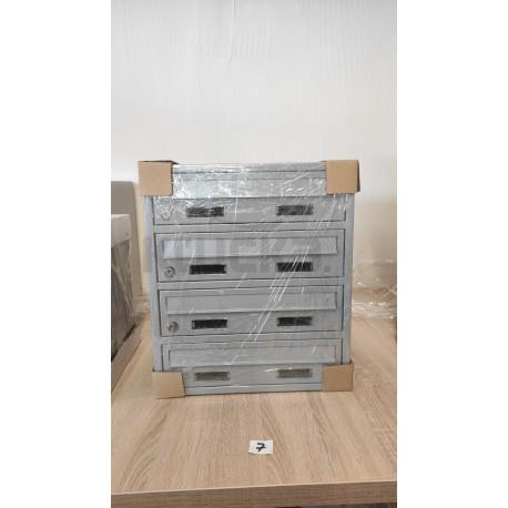 M35 modulová schránka RAL7035