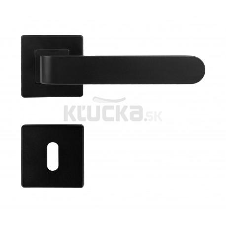 K02 BB kľučka na dvere čierna