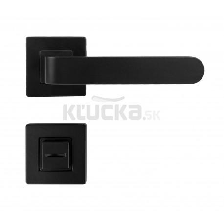 K02 WC kľučka na dvere čierna