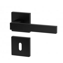 K03 BB kľučka na dvere čierna IT LINE