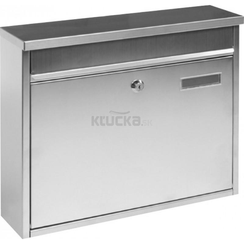 983cdd66c BK113 poštová schránka nerez - E-shop KĽUČKA.sk